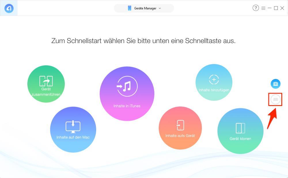 Videos vom iPhone auf Computer übertragen, ohne iTunes – Schritt 2