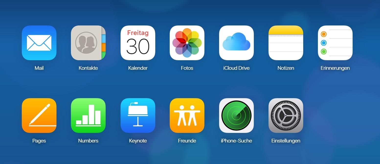 Wie kann man iCloud verwalten