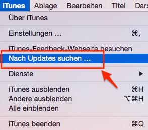 iTunes aktualisieren – Was soll man vor dem iOS 11 Upgrade tun