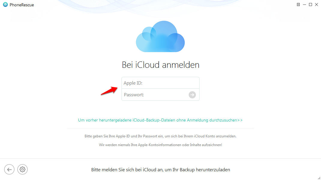 WhatsApp aus iCloud Backup wiederherstellen – mit PhoneRescue