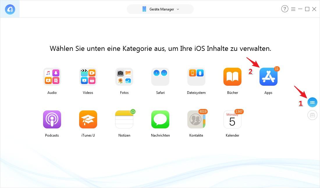 WhatsApp für iPad 2018 - Schritt 1