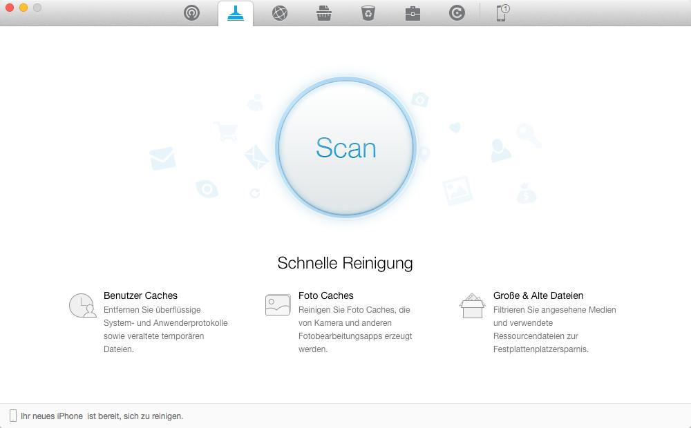 PhoneClean – iOS 10 Gerät einfach beschleunigen