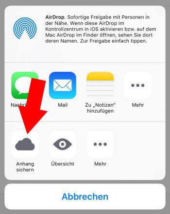 Fotos von Mac auf iPhone mit E-Mail übertragen – aus iPhone-Tricks.de