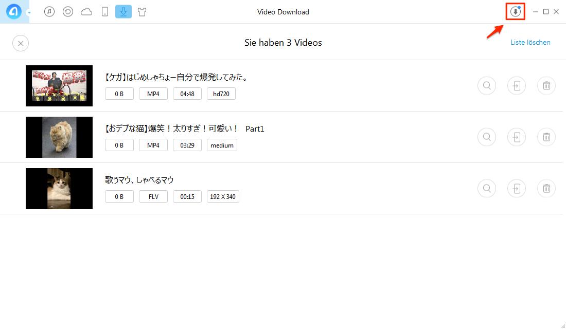 Ohne iTunes! Videos runterladen - Schritt 3