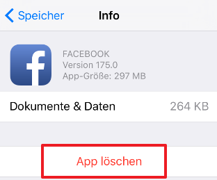 Wie lösche ich App auf iPhone einfach