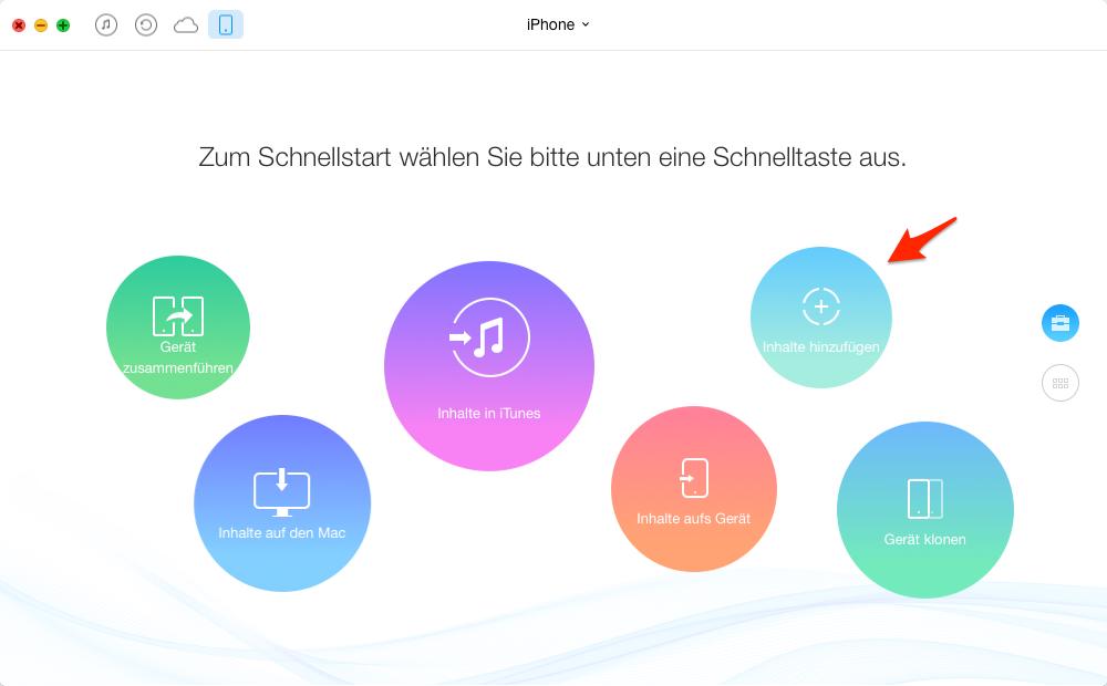 alle Wiedergabeliste vom Mac auf iPhone übertragen