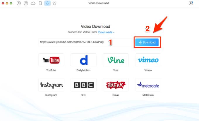 Videos aus Youtube herunterladen – Schritt 3