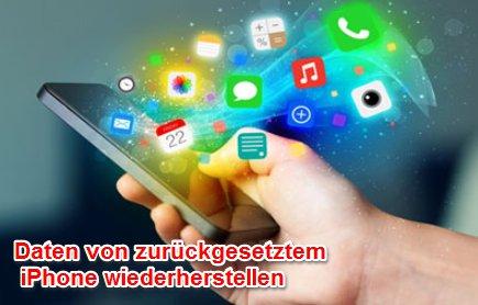 zurückgesetztes iPhone wiederherstellen