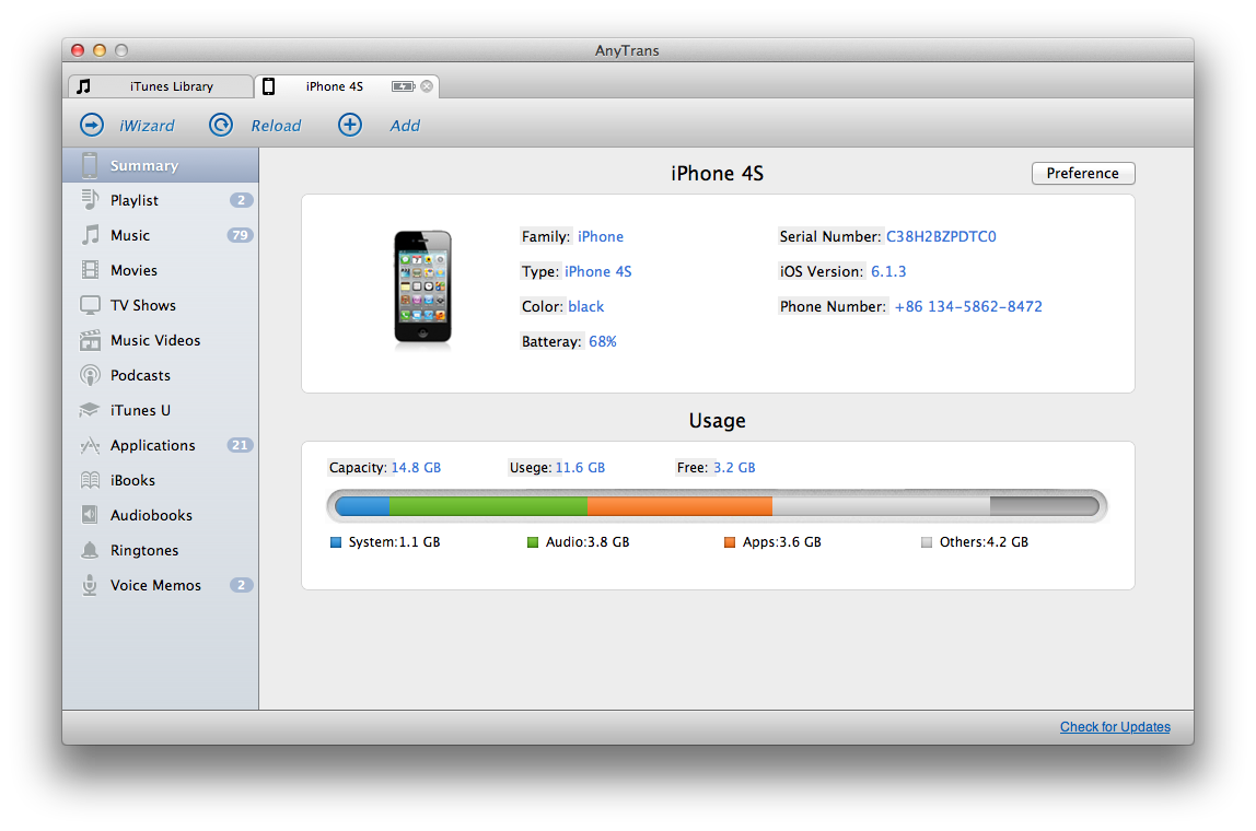 AnyTrans with iOS 7 Support