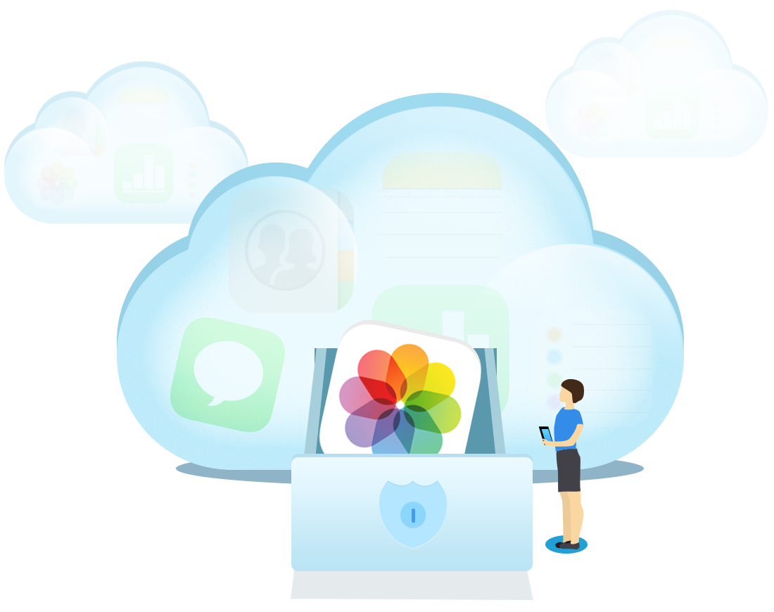 AnyTrans® Your One-stop iCloud Content Manager