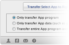 Transfer iPhone App with Game Saves