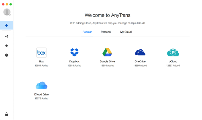 AnyTrans for Cloud – Manage, Transfer and Share Cloud Files in A Better Way