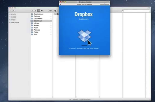 Fix Dropbox Not Syncing Files on Mac by Checking Dropbox - Step 2