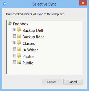 Fix Dropbox Not Syncing Files on Mac by Checking Selective Sync