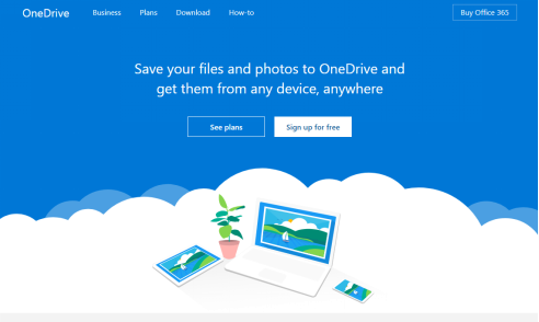 Top 4 Fastest Cloud Storage of 2018 - OneDrive