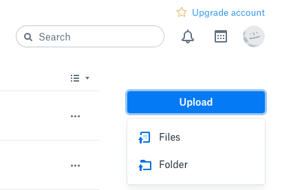Add Music to Dropbox