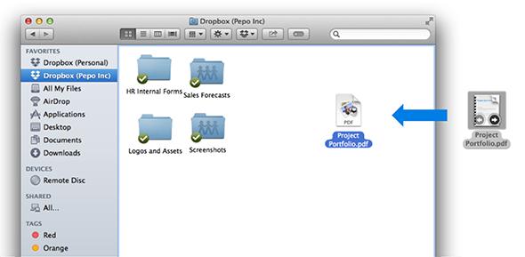 How to Backup Mac to Dropbox via Desktop App