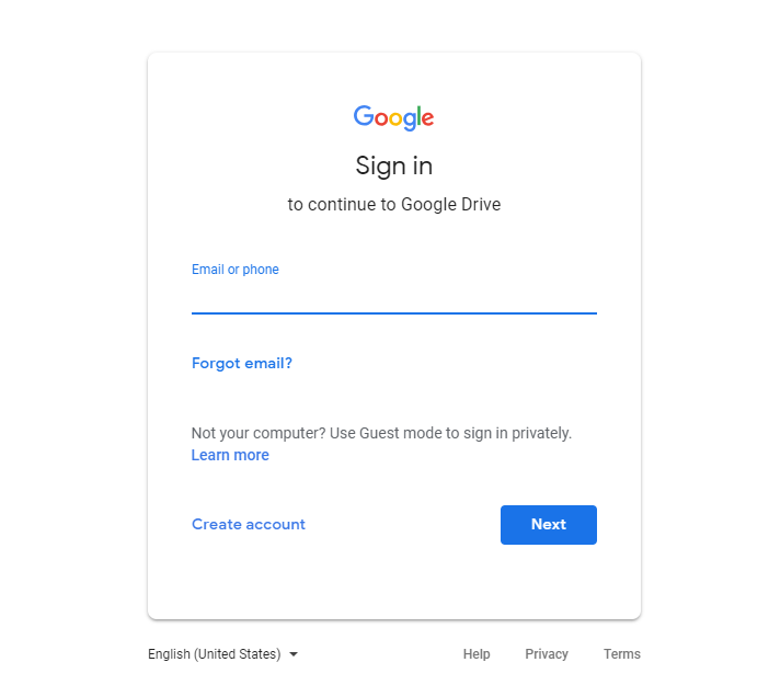 How to Delete Files from Google Drive via Website-Step 1