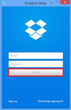 How to Transfer Photos from Dropbox to Laptop via Desktop App - Step 2