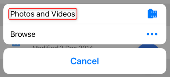How to Upload Video to Google Drive from Mobile Devices – Step 2