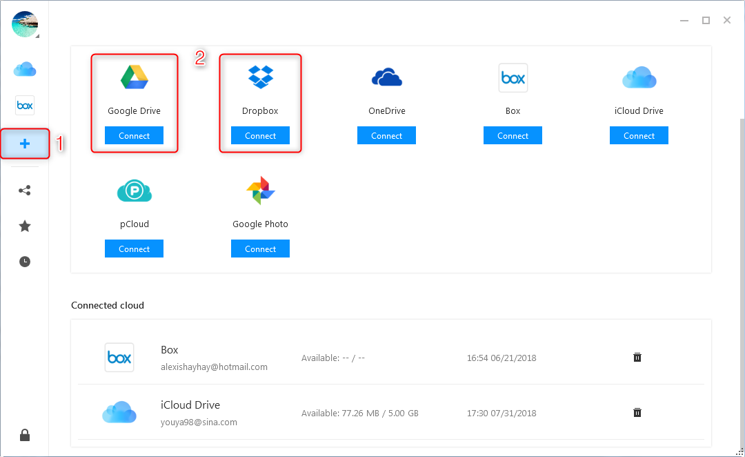 How to Upload Video to Google Drive from Other Cloud Brands – Step 2