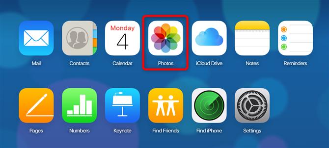 iCloud to Google Photos - Step 1