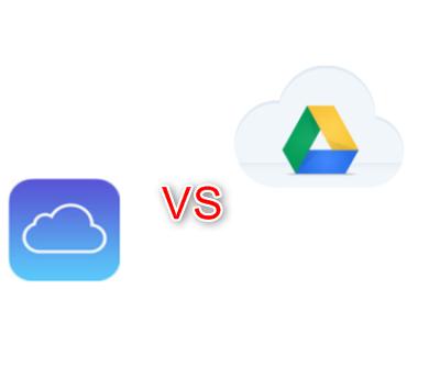 iCloud vs. Google Drive