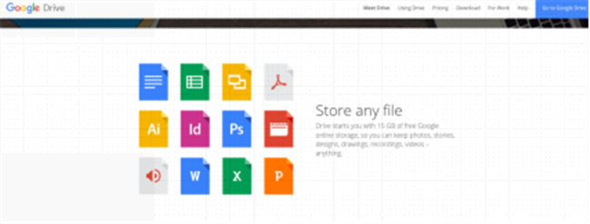 The Most Secure Cloud Storages - Google Drive
