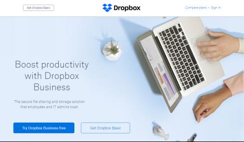 OneDrive Alternative 2018 – Dropbox