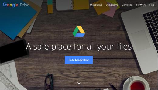OneDrive Alternative 2018 – Google Drive