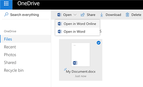 Fix OneDrive Problems - Can't Open Word Files in Online Word App