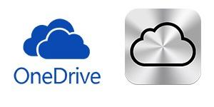 OneDrive vs. iCloud Drive
