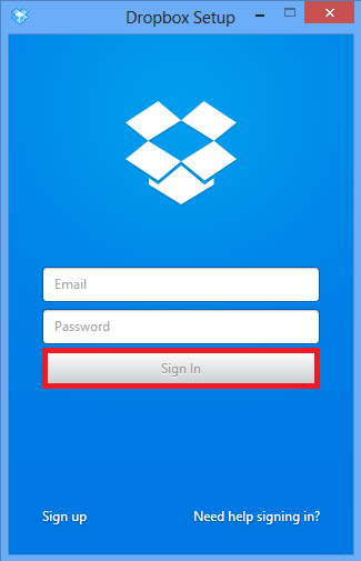 How to Transfer Files from PC to Dropbox using Desktop App - Step 2