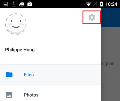 Transfer Photos from Android Phone to Dropbox - Step 3