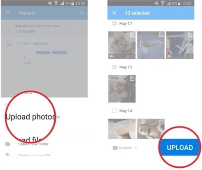 How to Transfer Photos from Android Phone to Dropbox – iMobie