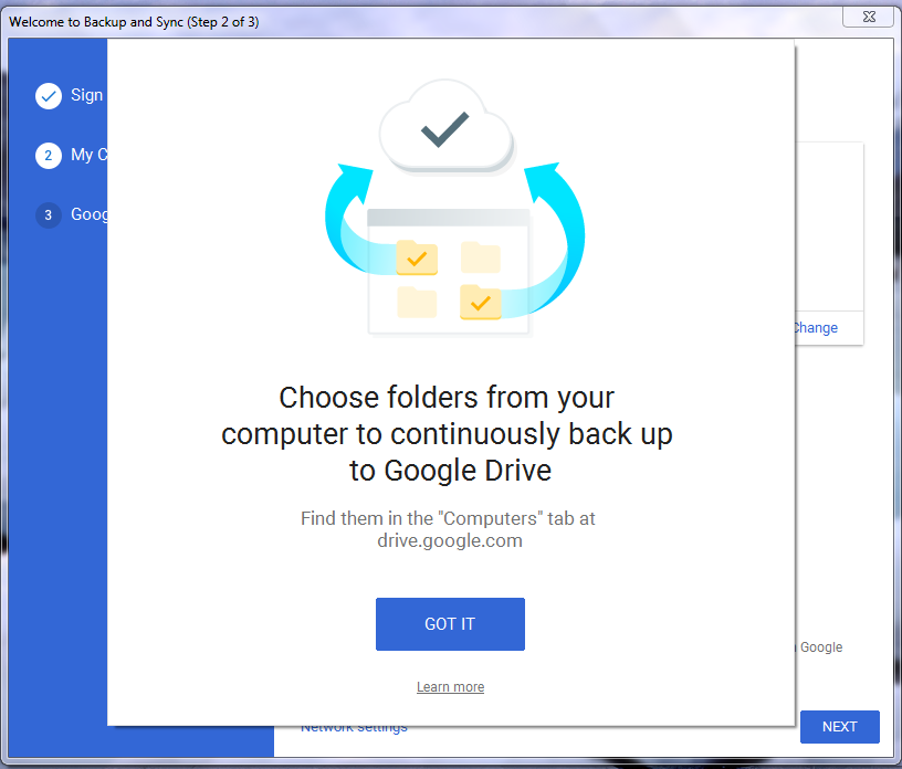 How to Backup and Sync Photos from Google Drive to Laptop - Step 3