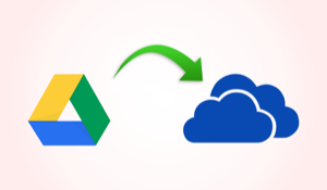 Transfer Files from Google Drive to Onedrive