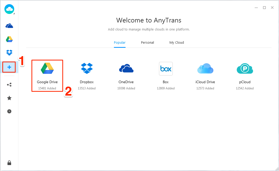 Transfer Photos from PC to Google Drive – Step 2