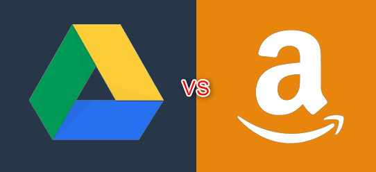 Google Drive vs. Amazon Drive