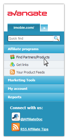 Affiliates Network - Sign Up 3