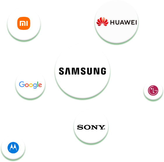 20,000+ Models of Android Phones & Tablets Supported