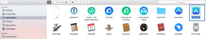 Install AppTrans on Your Mac Computer