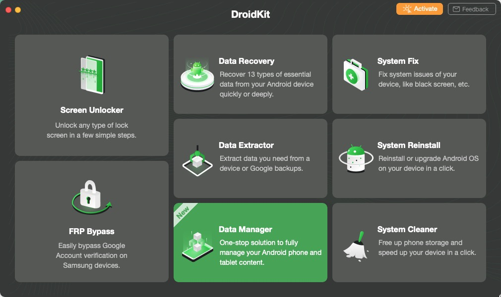 Install DroidKit on Your Mac Computer