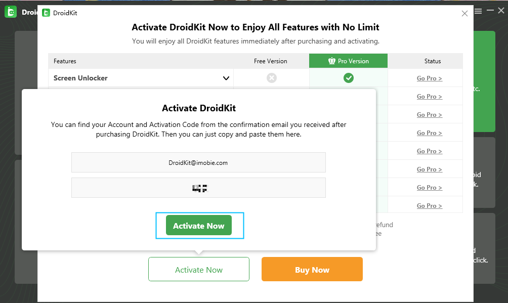 How to Activate DroidKit on Your Computer