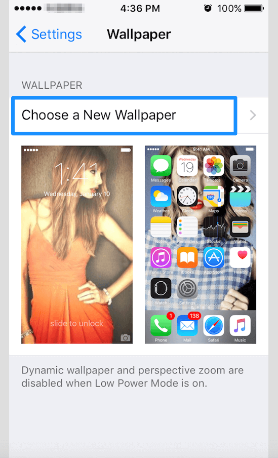 how-to-change-wallpaper-in-iPhone