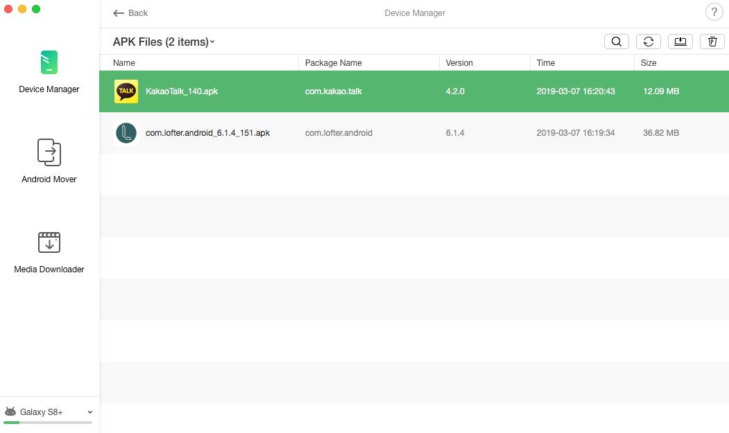 APK Files Management -4