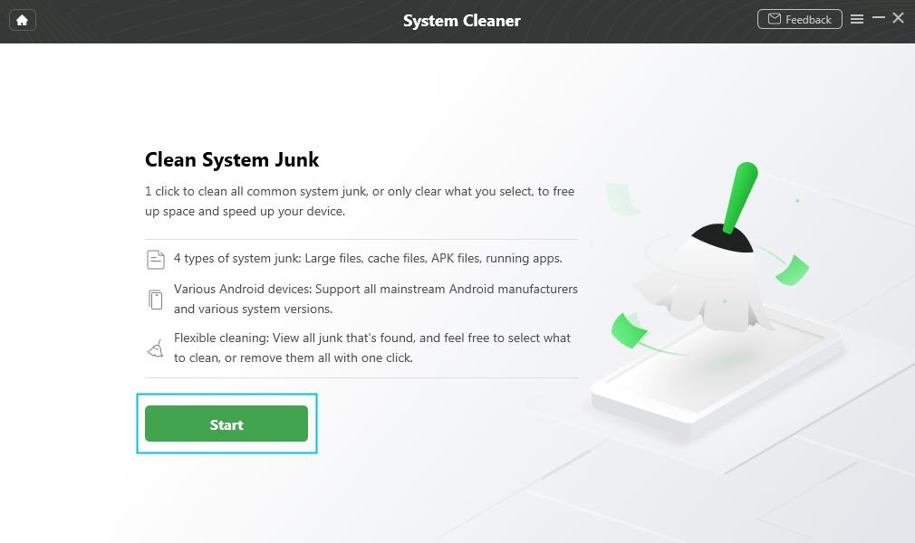 Click Start Button
