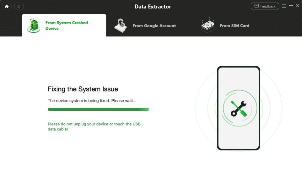Repair the Android System