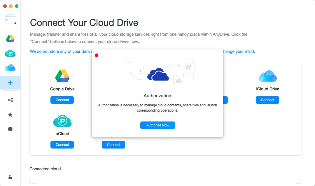 Signing in Your OneDrive Account