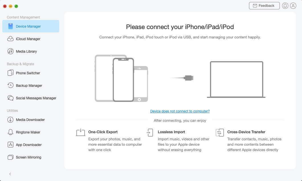 Disconnection of Your iOS Device